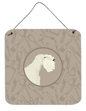 Buy this Sealyham Terrier In the Kitchen Wall or Door Hanging Prints CK2208DS66