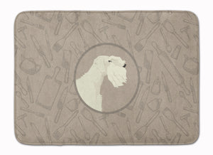 Buy this Sealyham Terrier In the Kitchen Machine Washable Memory Foam Mat CK2208RUG