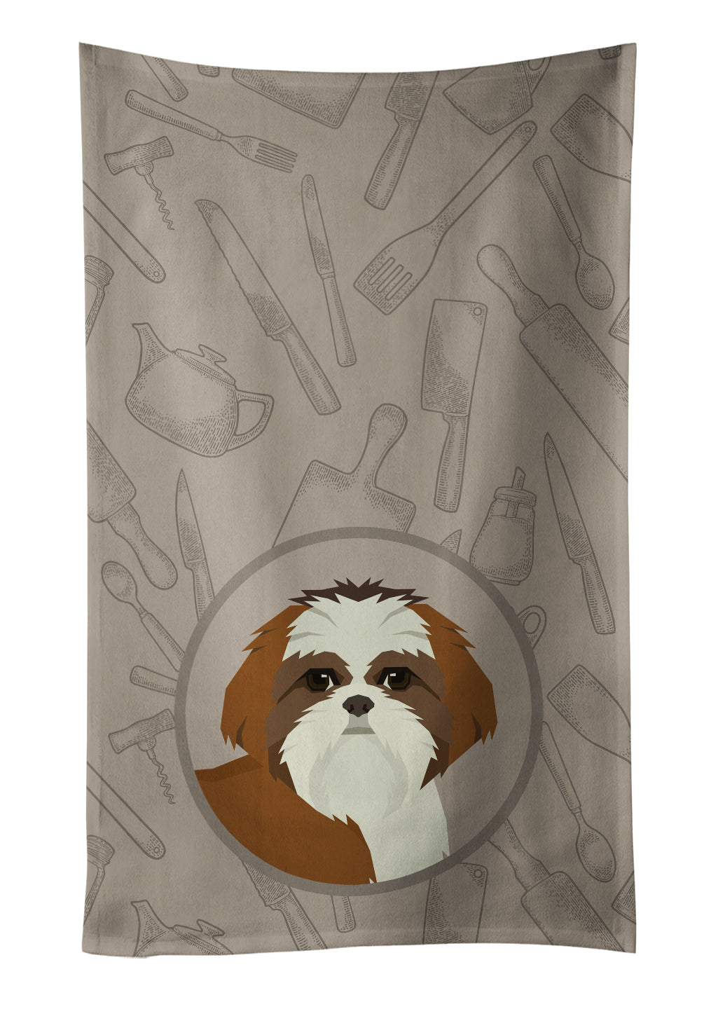Buy this Shih Tzu In the Kitchen Kitchen Towel CK2210KTWL
