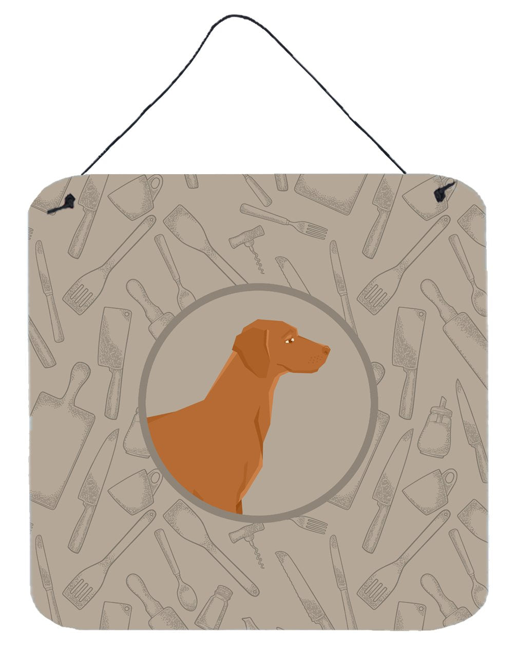 Buy this Vizsla In the Kitchen Wall or Door Hanging Prints CK2215DS66