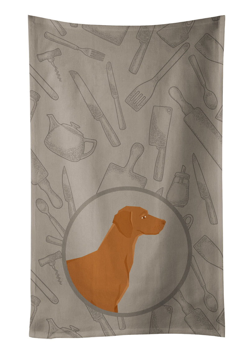 Buy this Vizsla In the Kitchen Kitchen Towel CK2215KTWL
