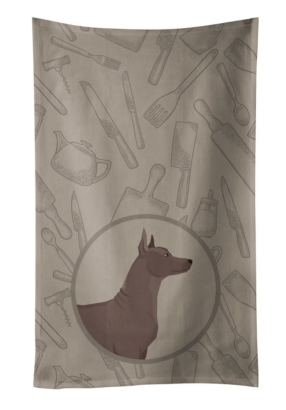 Mexican Hairless Dog Xolo In the Kitchen Kitchen Towel CK2217KTWL by Caroline's Treasures