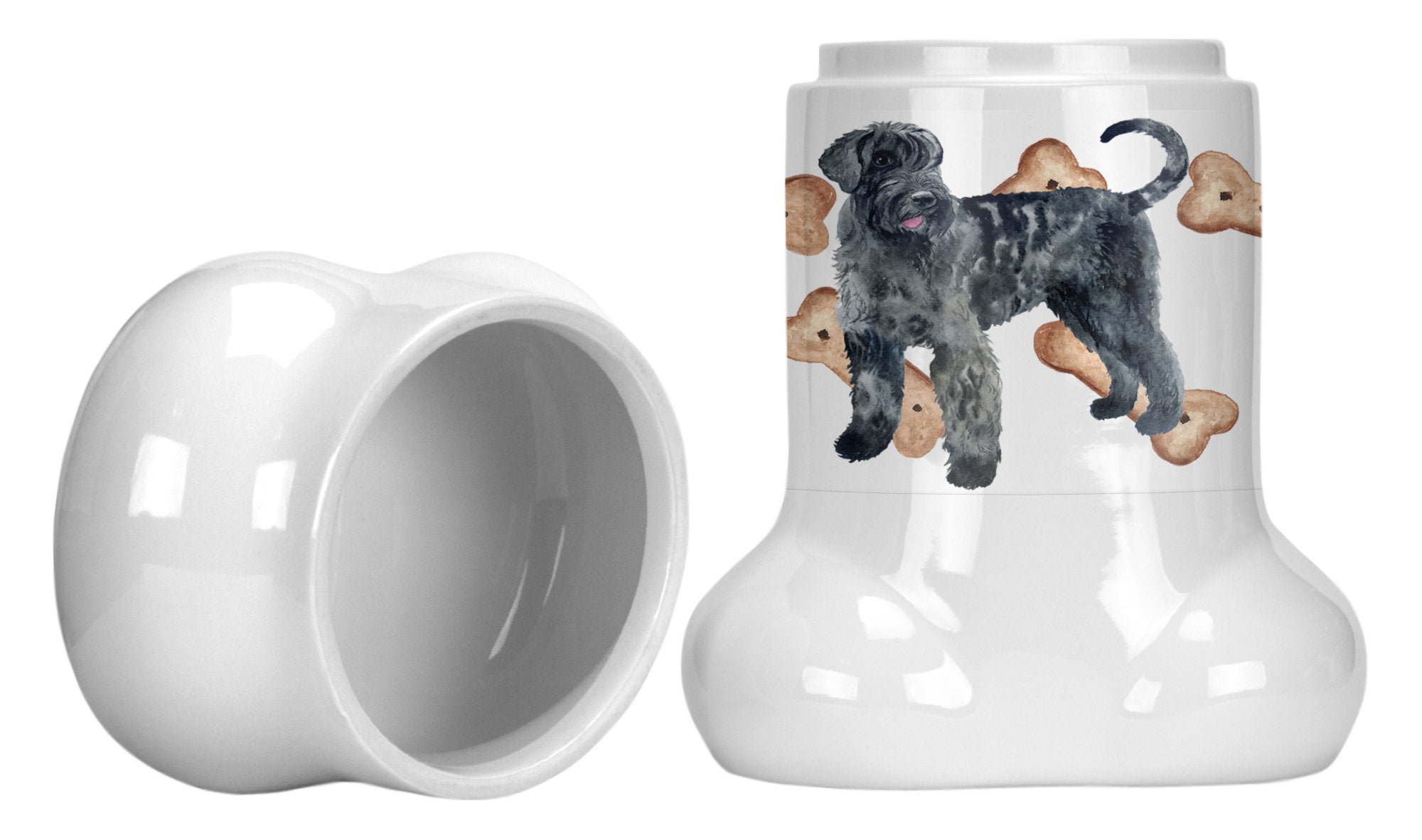 Buy this Giant Schnauzer Bone Shaped Treat Jar CK2240BSTJ