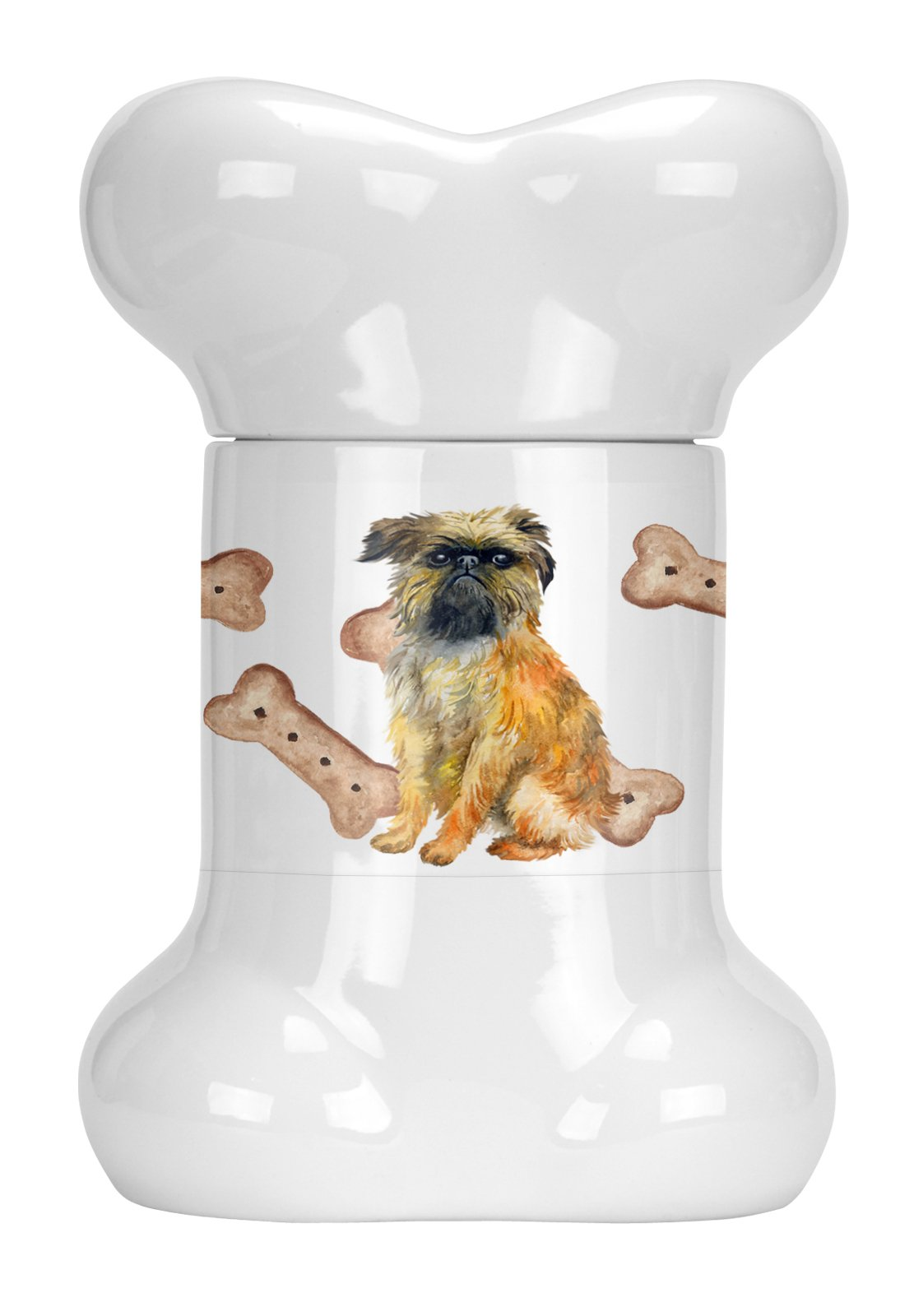 Buy this Brussels Griffon Bone Shaped Treat Jar CK2267BSTJ