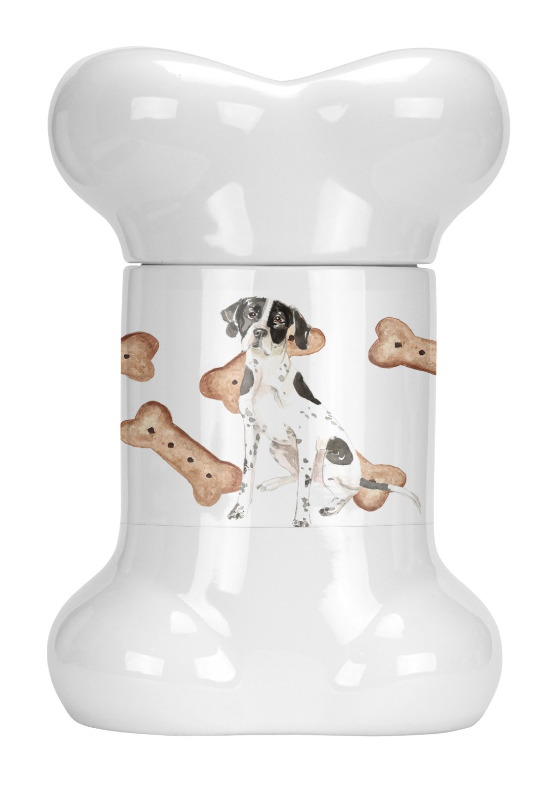 Buy this English Pointer Bone Shaped Treat Jar CK2314BSTJ