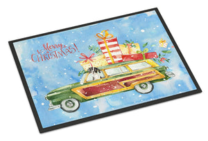 Buy this Merry Christmas English Pointer Indoor or Outdoor Mat 24x36 CK2405JMAT