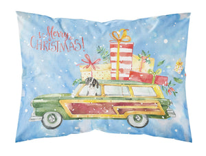 Buy this Merry Christmas English Pointer Fabric Standard Pillowcase CK2405PILLOWCASE