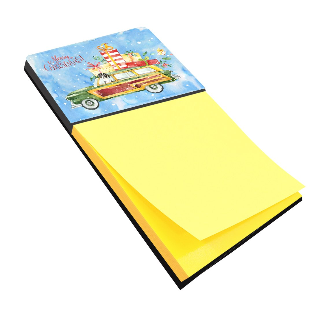Buy this Merry Christmas English Pointer Sticky Note Holder CK2405SN