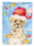 Buy this Christmas Lights Cairn Terrier Flag Canvas House Size CK2474CHF