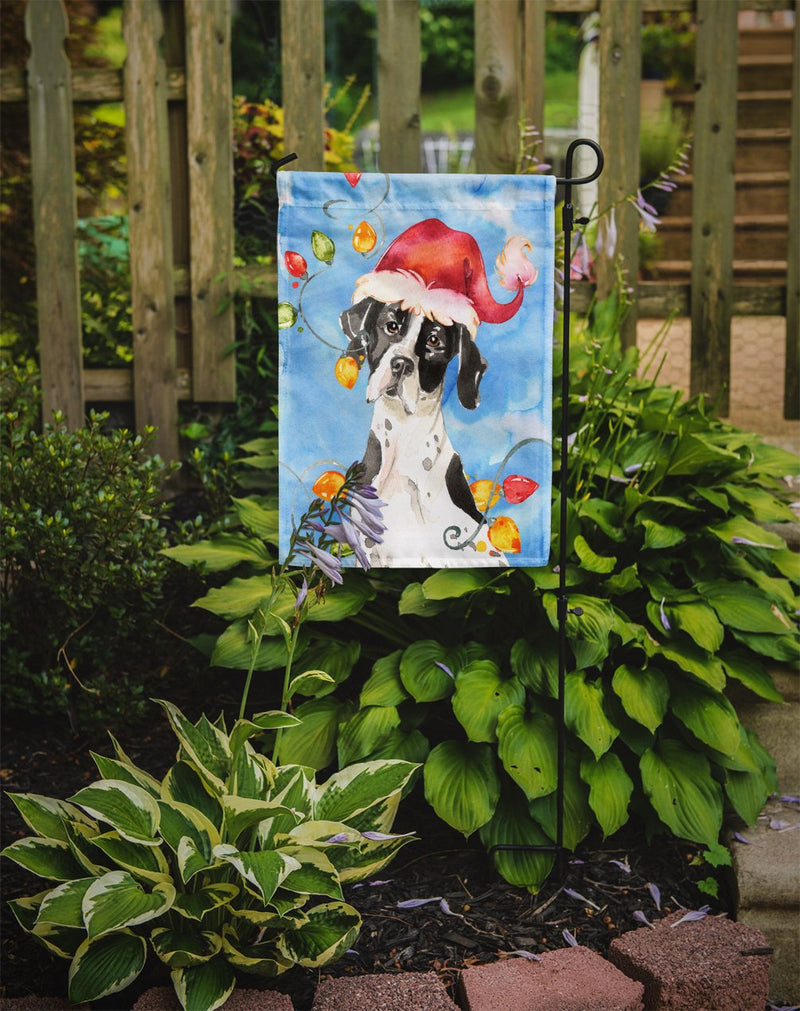 Buy this Christmas Lights English Pointer Flag Garden Size CK2477GF