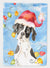 Christmas Lights English Pointer Flag Garden Size CK2477GF by Caroline's Treasures