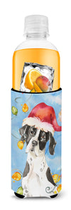 Christmas Lights English Pointer Michelob Ultra Hugger for slim cans CK2477MUK by Caroline's Treasures