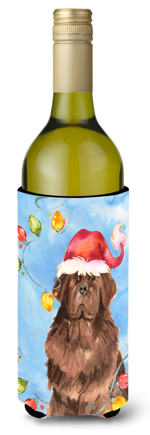 Buy this Christmas Lights Newfoundland Wine Bottle Beverage Insulator Hugger CK2487LITERK
