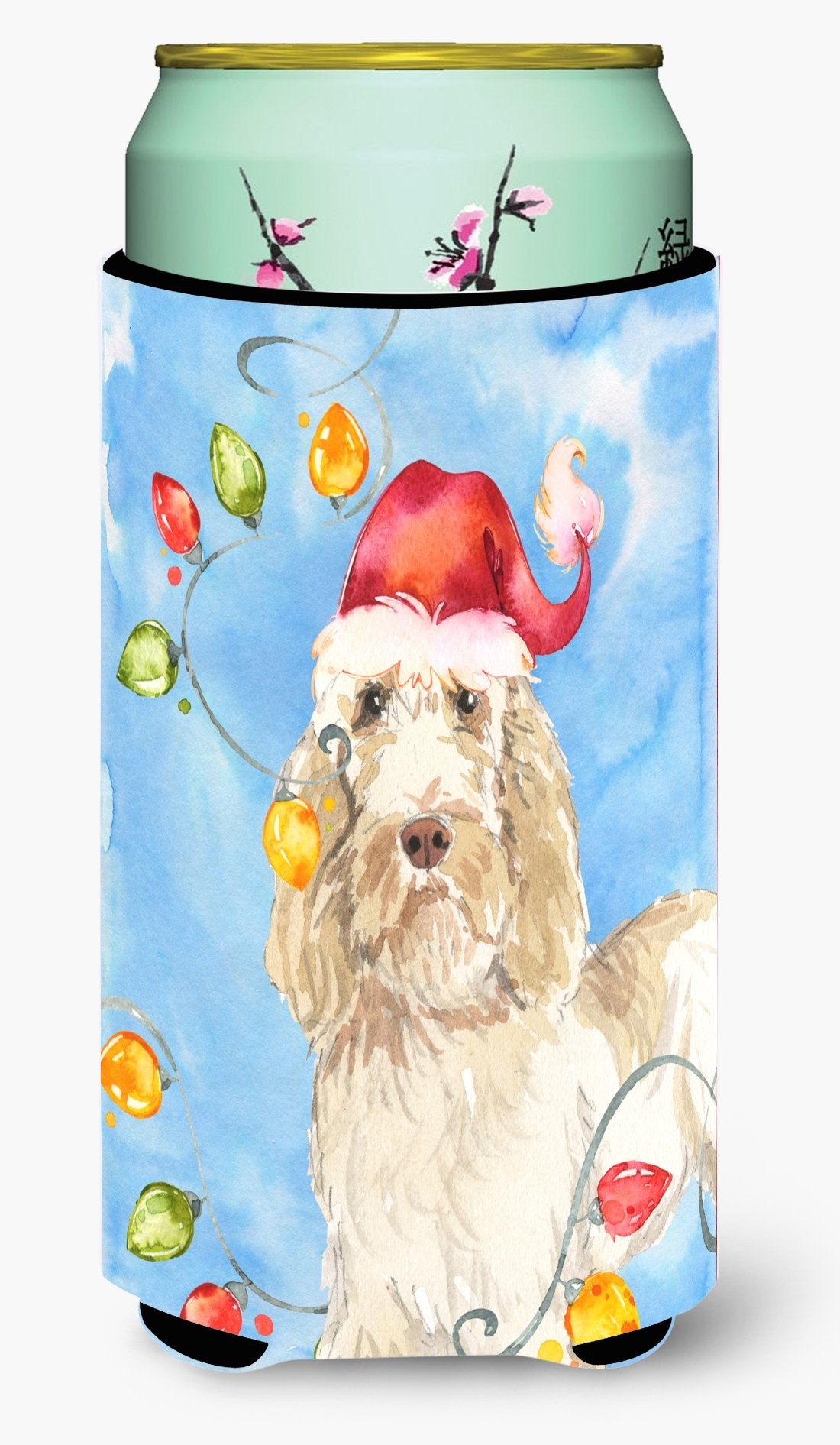 Christmas Lights Spinone Italiano Tall Boy Beverage Insulator Hugger CK2496TBC by Caroline's Treasures