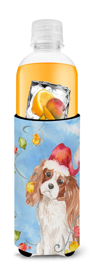 Christmas Lights Blenheim Cavalier Spaniel Michelob Ultra Hugger for slim cans CK2509MUK