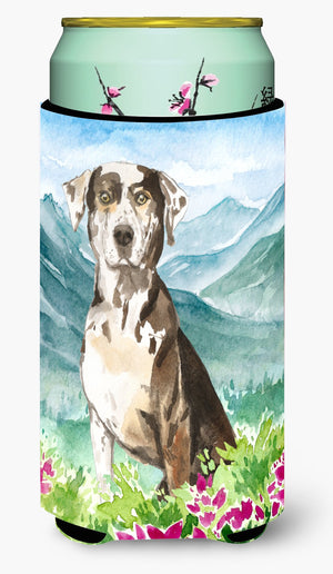 Buy this Mountain Flowers Catahoula Leopard Dog Tall Boy Beverage Insulator Hugger CK2540TBC