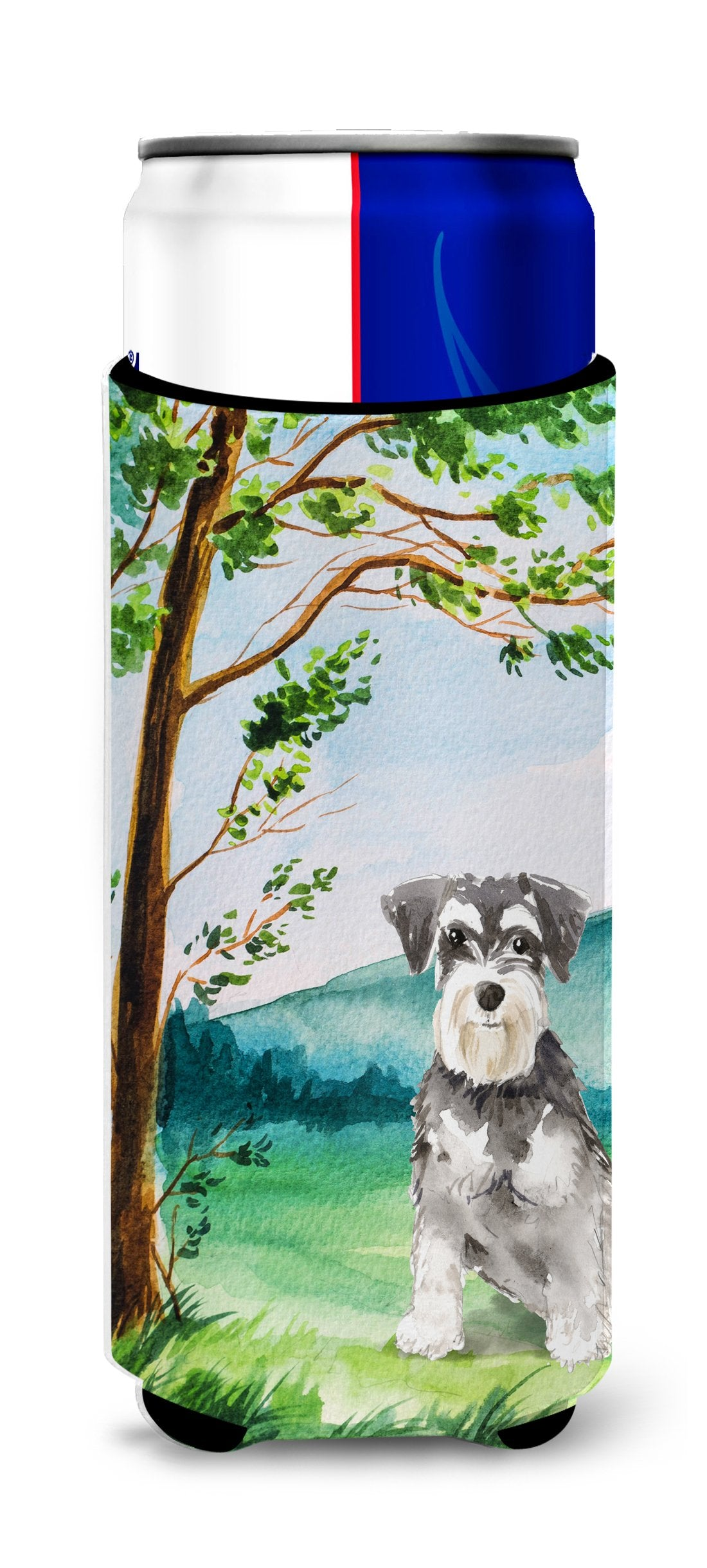 Under the Tree Schnauzer #2 Michelob Ultra Hugger for slim cans CK2564MUK by Caroline's Treasures
