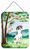 Buy this Under the Tree English Pointer Wall or Door Hanging Prints CK2574DS1216