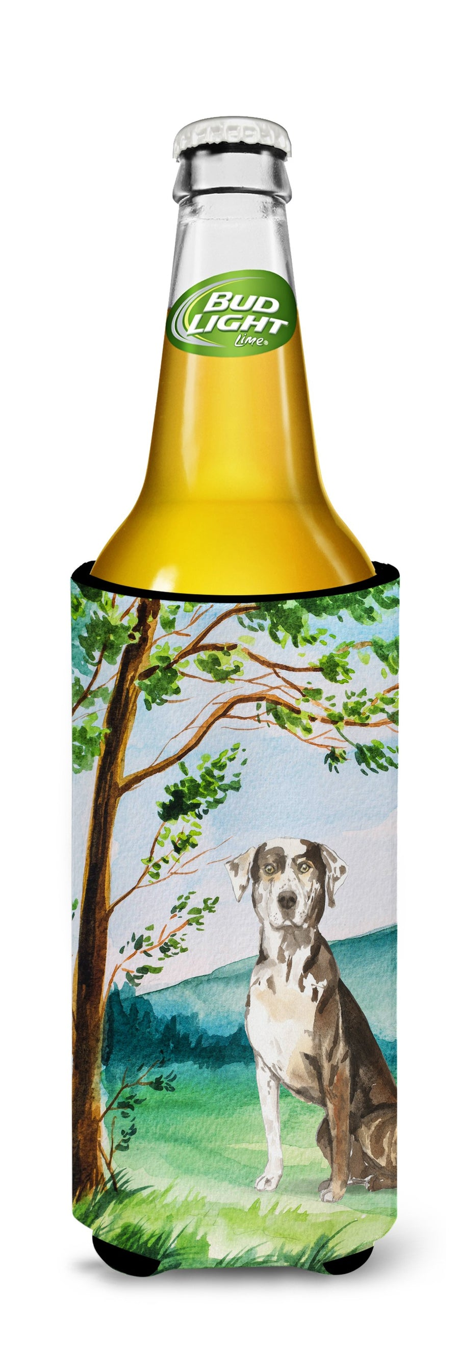 Buy this Under the Tree Catahoula Leopard Dog Michelob Ultra Hugger for slim cans CK2576MUK