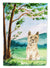 Buy this Under the Tree Cairn Terrier Flag Canvas House Size CK2577CHF