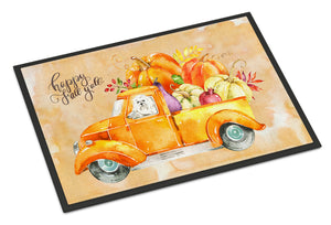 Buy this Fall Harvest Maltese Indoor or Outdoor Mat 18x27 CK2626MAT