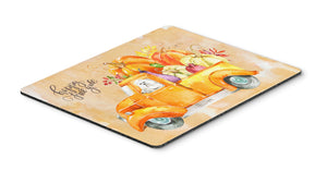 Buy this Fall Harvest Maltese Mouse Pad, Hot Pad or Trivet CK2626MP