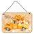 Buy this Fall Harvest Rottweiler Wall or Door Hanging Prints CK2629DS812