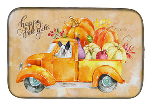 Buy this Fall Harvest French Bulldog Dish Drying Mat CK2656DDM