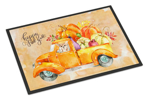 Buy this Fall Harvest Chihuahua Indoor or Outdoor Mat 18x27 CK2661MAT