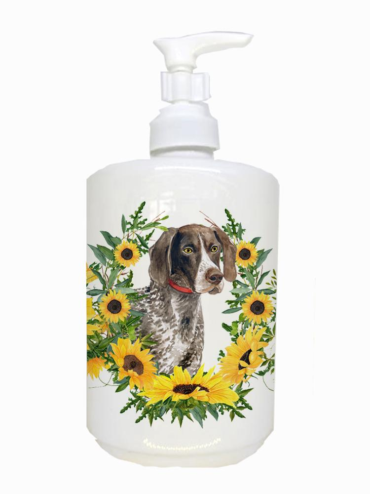 German Shorthaired Pointer Ceramic Soap Dispenser CK2833SOAP by Caroline's Treasures