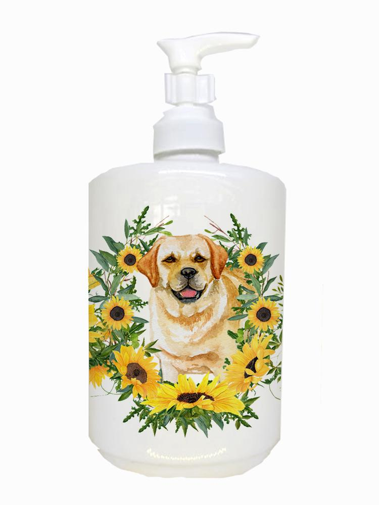 Golden Retriever Ceramic Soap Dispenser CK2856SOAP by Caroline's Treasures