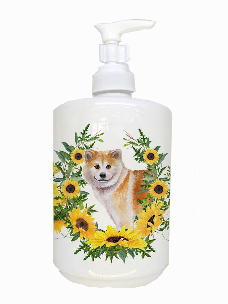 Buy this Shiba Inu Ceramic Soap Dispenser CK2870SOAP
