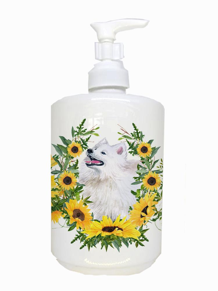 Buy this Samoyed Ceramic Soap Dispenser CK2883SOAP