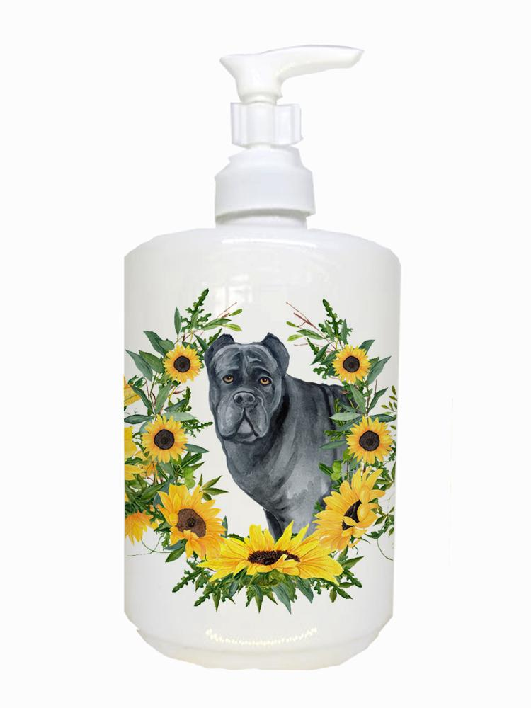 Cane Corso Ceramic Soap Dispenser CK2886SOAP by Caroline's Treasures