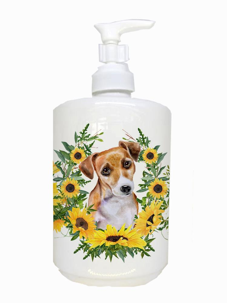 Jack Russell Terrier #2 Ceramic Soap Dispenser CK2905SOAP by Caroline's Treasures