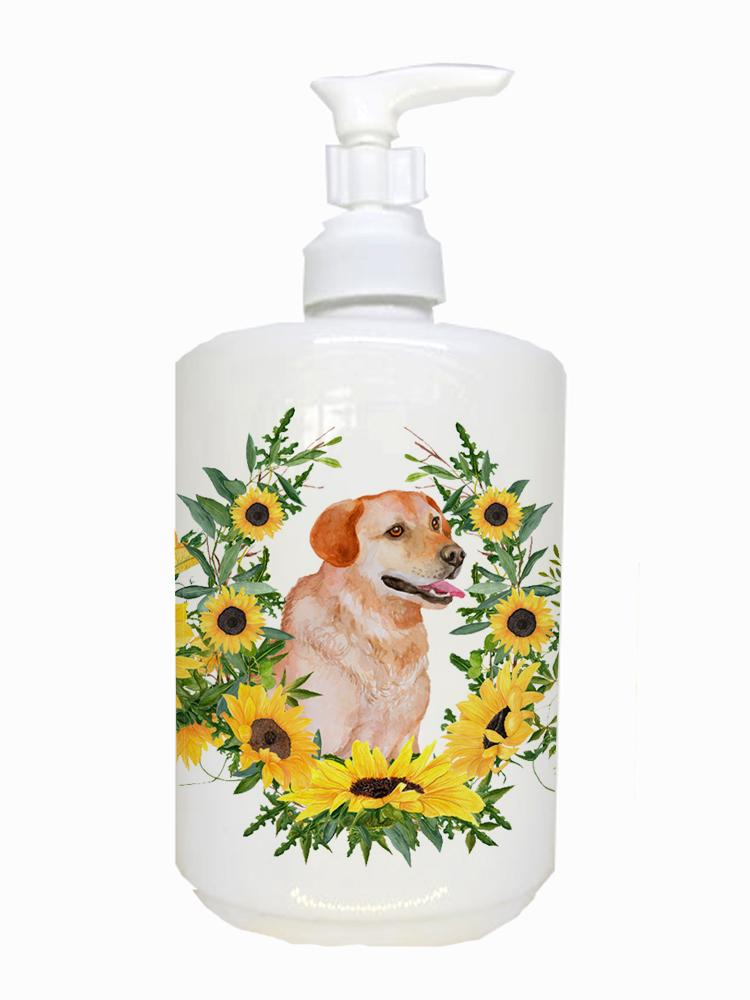 Buy this Labrador Retriever Ceramic Soap Dispenser CK2906SOAP