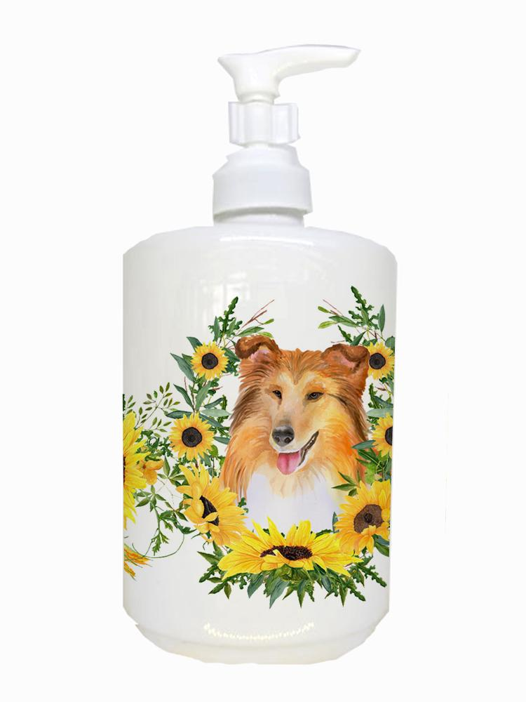 Buy this Sheltie Ceramic Soap Dispenser CK2912SOAP