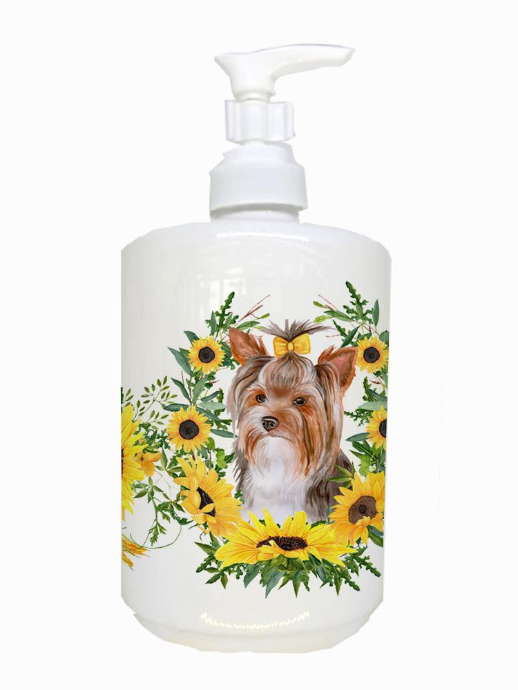 Buy this Yorkshire Terrier #2 Ceramic Soap Dispenser CK2915SOAP