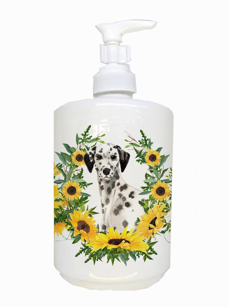 Buy this Dalmatian Ceramic Soap Dispenser CK2942SOAP