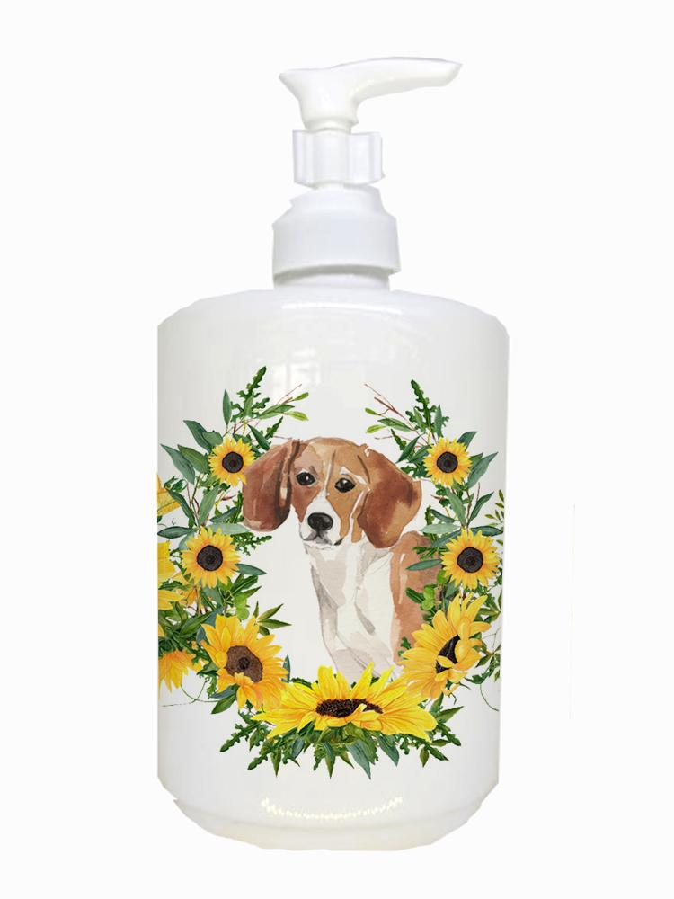 Buy this Beagle Ceramic Soap Dispenser CK2952SOAP