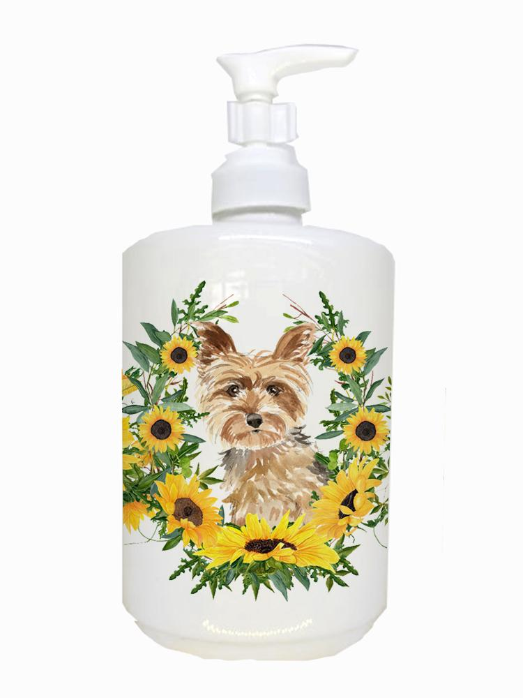 Buy this Yorkie Ceramic Soap Dispenser CK2953SOAP