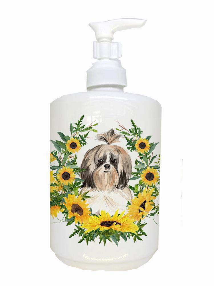 Buy this Shih Tzu Ceramic Soap Dispenser CK2961SOAP