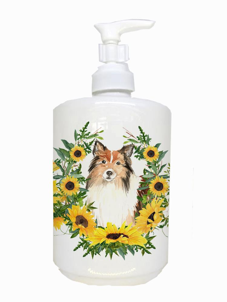 Buy this Sheltie Ceramic Soap Dispenser CK2962SOAP
