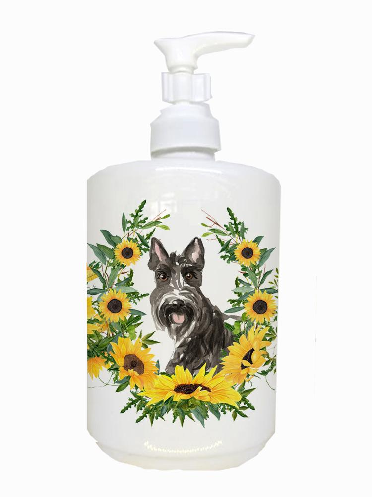 Buy this Scottish Terrier Ceramic Soap Dispenser CK2963SOAP