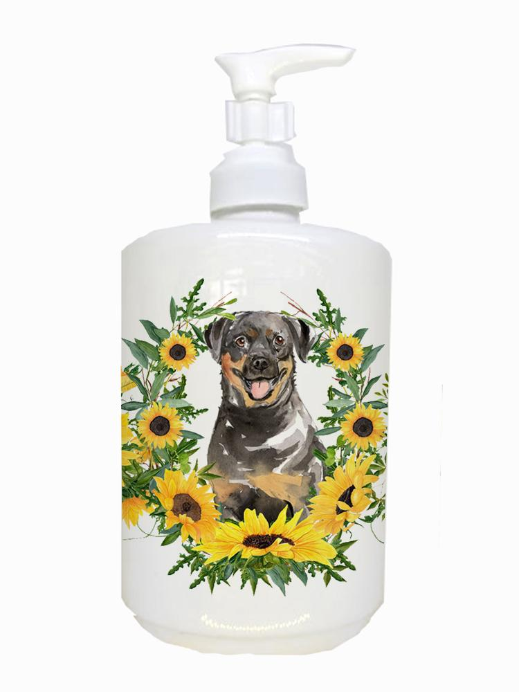 Buy this Rottweiler Ceramic Soap Dispenser CK2966SOAP