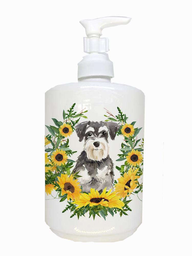 Buy this Schnauzer #2 Ceramic Soap Dispenser CK2968SOAP