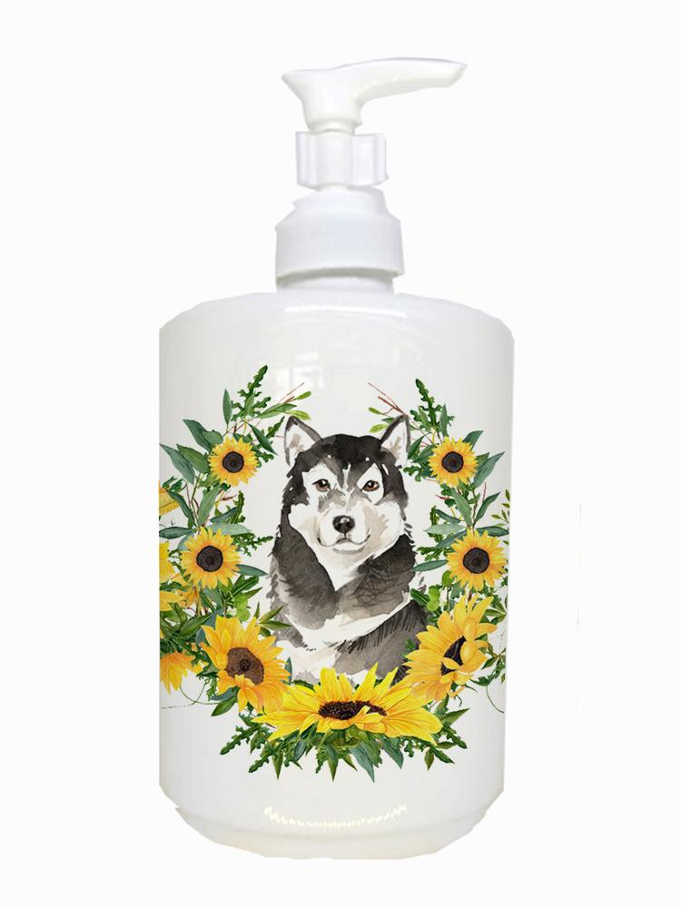 Buy this Alaskan Malamute Ceramic Soap Dispenser CK2970SOAP