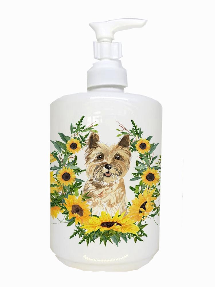 Buy this Cairn Terrier Ceramic Soap Dispenser CK2981SOAP