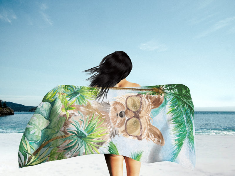 Buy this Yorkie Premium Beach Towel CK2990TWL3060