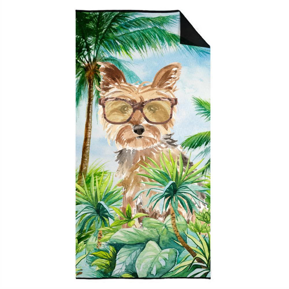 Yorkie Premium Beach Towel CK2990TWL3060 by Caroline's Treasures